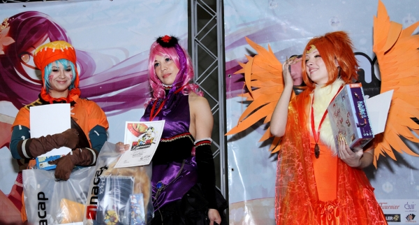 Cosplayers : Yuki, Makarochi, Chise / Fotografía : Cyberia